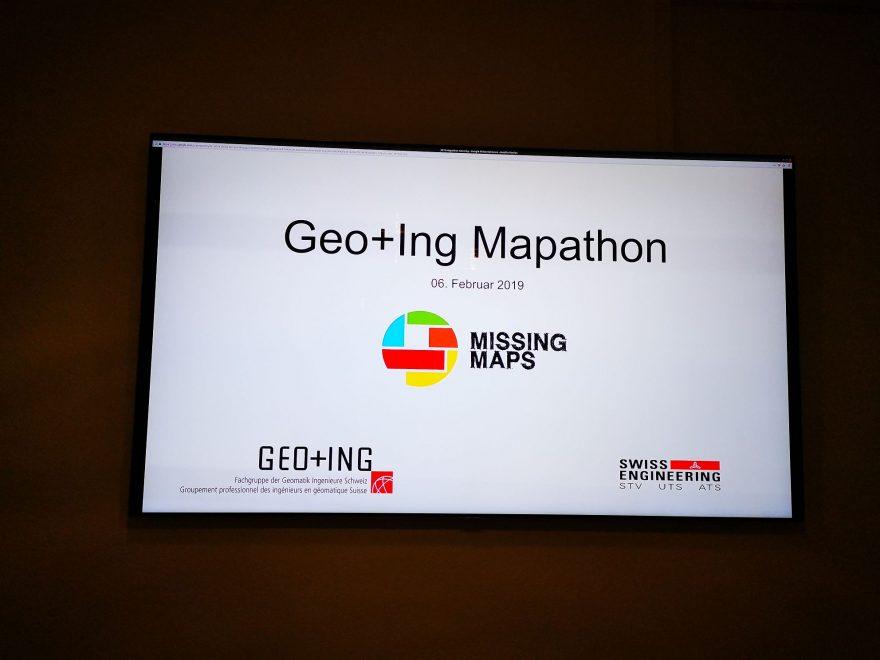 GEO+ING Mapathon