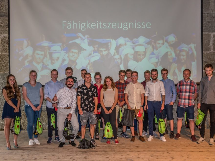 Lehrabgänger Bern 2019